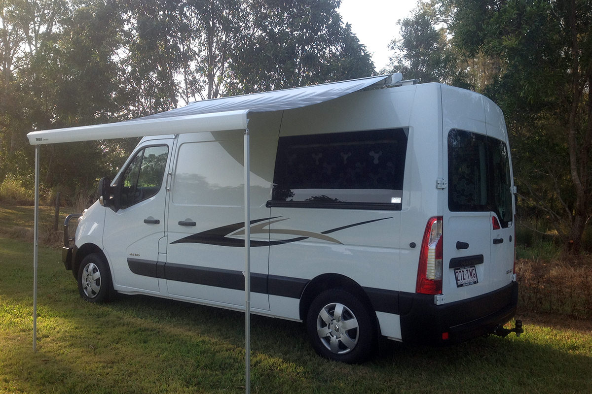 The Airlie 2 + 1 Premium Campervan