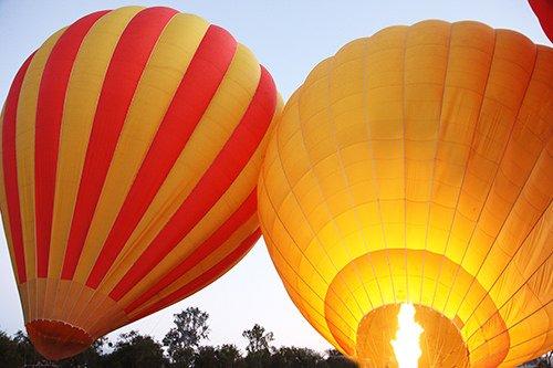 balooning on the gold coast