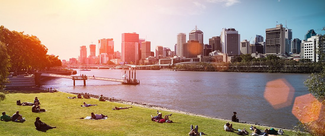 Campervan hire brisbane allows you to rent a vehicle and tour around the Brisbane River, the city and Southbank.