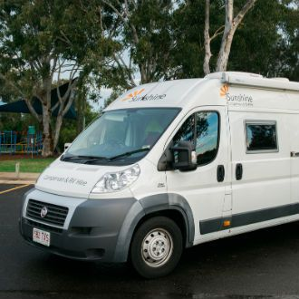 Campervan hire sunshine coast, premium vehicles for rent